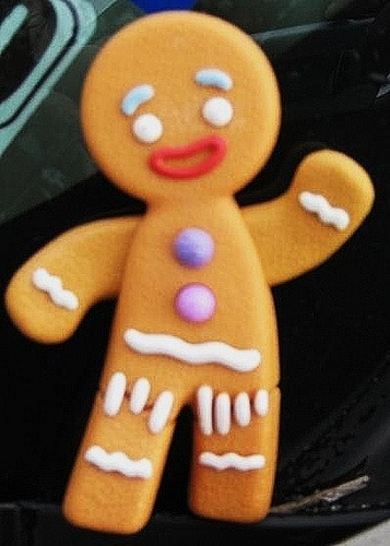 Shrek Gingerbread Man, I love me some gingy