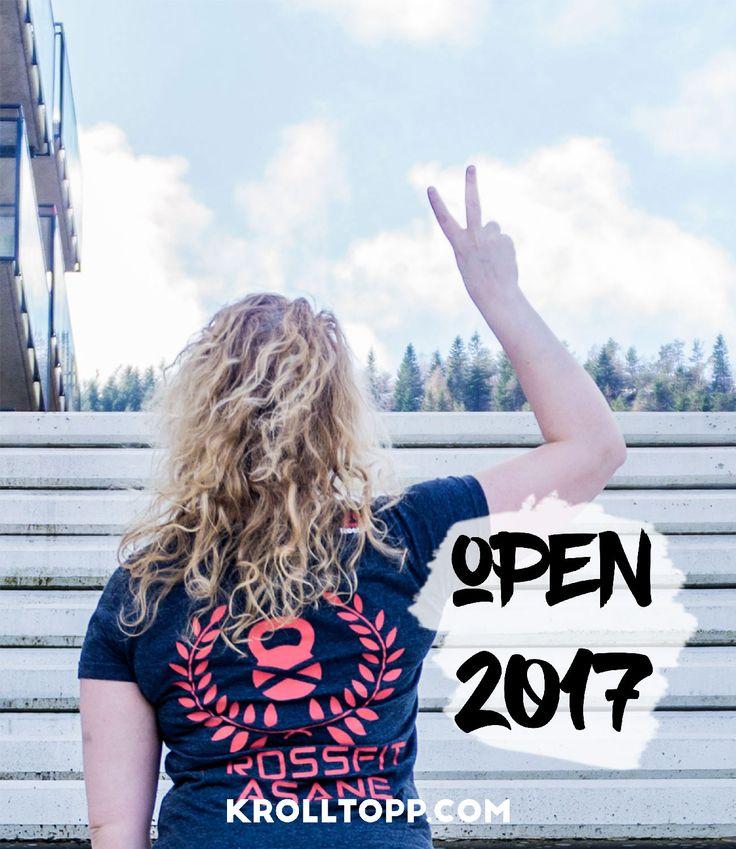 Crossfit Open - Open 2017 - In the Open - workout clothes - WOD - Livet som Krølltopp