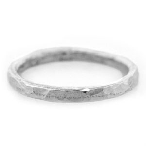 Making a Textured Fine Silver Ring | Beading Techniques | Fusion Beads