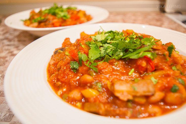Вегетарианский Чили Син Карне: рецепт мексиканской кухни