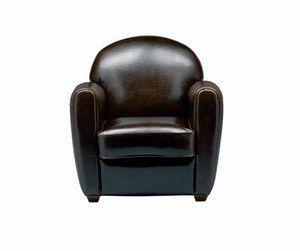 Fauteuil Habana - La Déco ethnique, c'est chic - Très tendance, ce fauteuil en cuir vachette ébène vous ouvrira ses bras accueillants pour des soirées teintées de charme et d'exotisme. Alinéa Prix : 499 €, le fauteuil ; 899€ le canapé deux places N° lecteur...