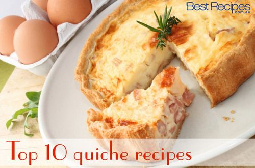 YUM! Top 10 quiche recipes »> Quick, easy and delicious!
