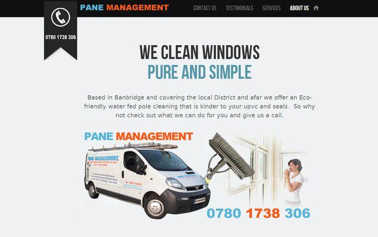 Pane Management - three60design Banbridge Northern Ireland - Web Design