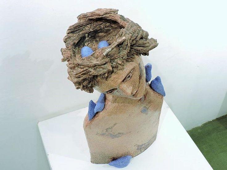 Cristina del Castillo. Nest. Nido, cerámica