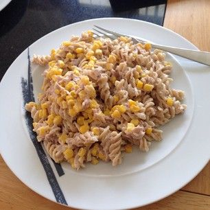 tuna pasta salad with corn
