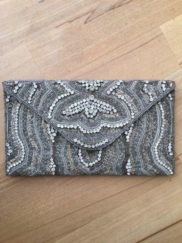abd3222256a38 Clutch Tasche Perlenclutch ZARA - kleiderkreisel.de