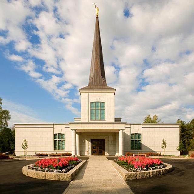 Helsinki, Finland LDS temple    Find more LDS inspiration at: www.MormonLink.com