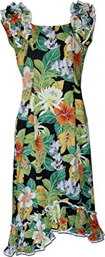 Paradise Hibiscus Muumuu Hawaiian Dress  Womens Hawaiian Dress  Aloha *** Want additional info? Click on the image.(This is an Amazon affiliate link and I receive a commission for the sales)