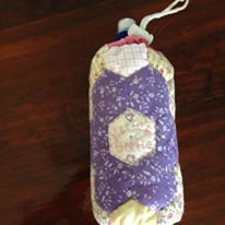 Free Pattern for Water Bottle cover/cooler: https://scontent-syd1-1.xx.fbcdn.net/v/t1.0-0/c0.22.206.206/p206x206/13873089_1729608530612749_5394169077475630615_n.jpg?oh=da4ebd1a05acedf5e7d889763cb6076c&oe=589F63F3