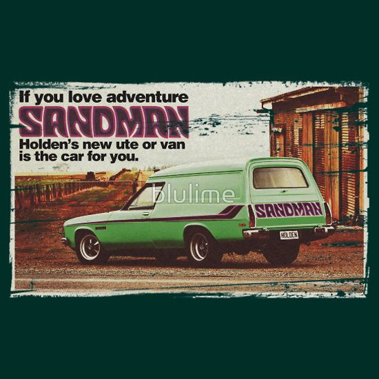 Holden Sandman Panel Van - Nostalgic