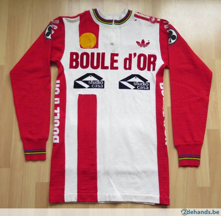 Freddy Maertens 1981 Boule d'Or Retro Cycling jersey