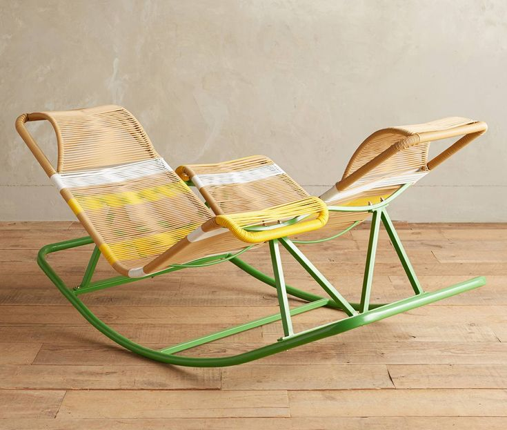 Double Rocking Chair via Goodmoods