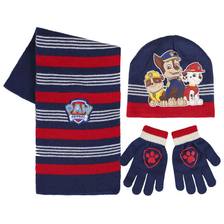 INCLUDES: HAT, GLOVES AND SCARF. COLOUR: NAVY BLUE
