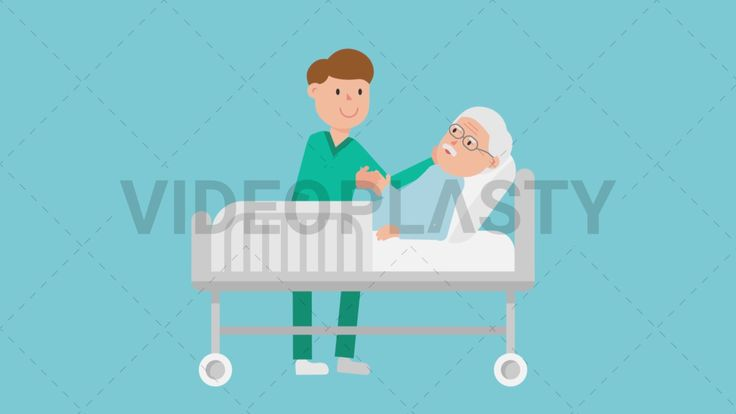 Download: http://ift.tt/2tyVvR0  A male nurse with green scrubs is providing patient care to an old man who is laying in a gray hospital bed  Two version are included: normal (with a start animation) and loopable. The normal version can be extended with the loopable version  Clip Length:10 seconds Loopable: Yes Alpha Channel: Yes Resolution:FullHD Format: Quicktime MOV  For more royalty free video assets visit: https://videoplasty.com