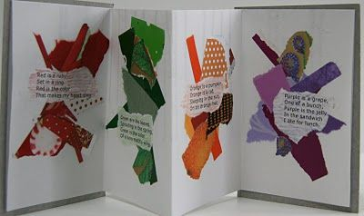 Colour poem books. Click the link for the poem to glue in yours!