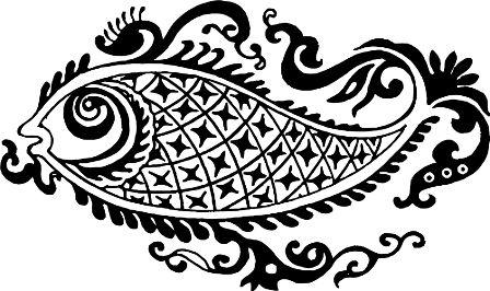 Индийский орнамент NF