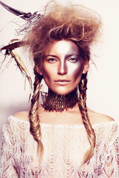 Burning Man #Makeup                                                                                                                                                      More