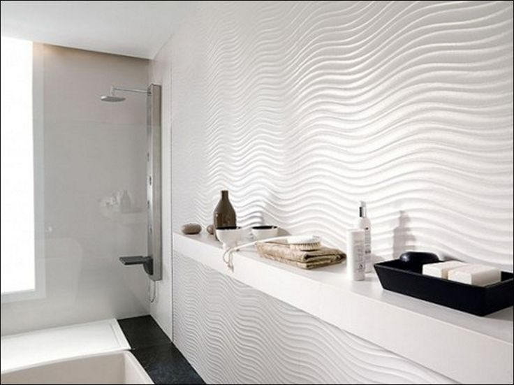 White Wall Tiles For Bathroom