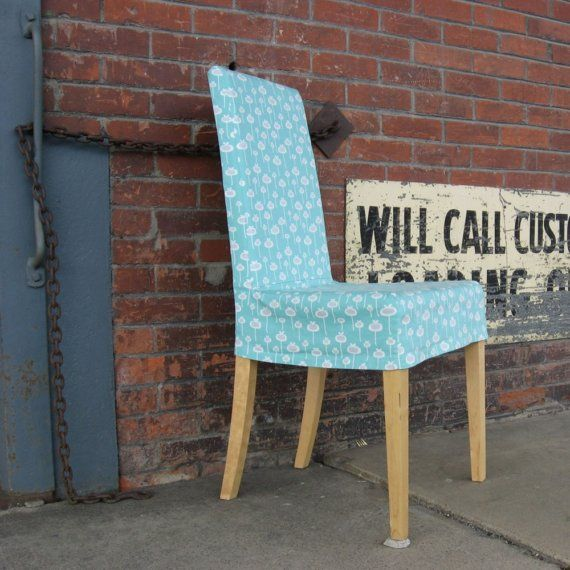 Need to make these chair covers - anything is easier than taking the fabric off a chair every time it gets dirty