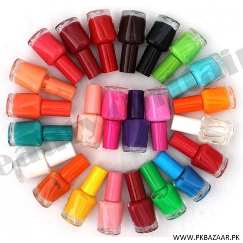 Pack Of 24 Branded Nail Polish Box for sale in pakistan