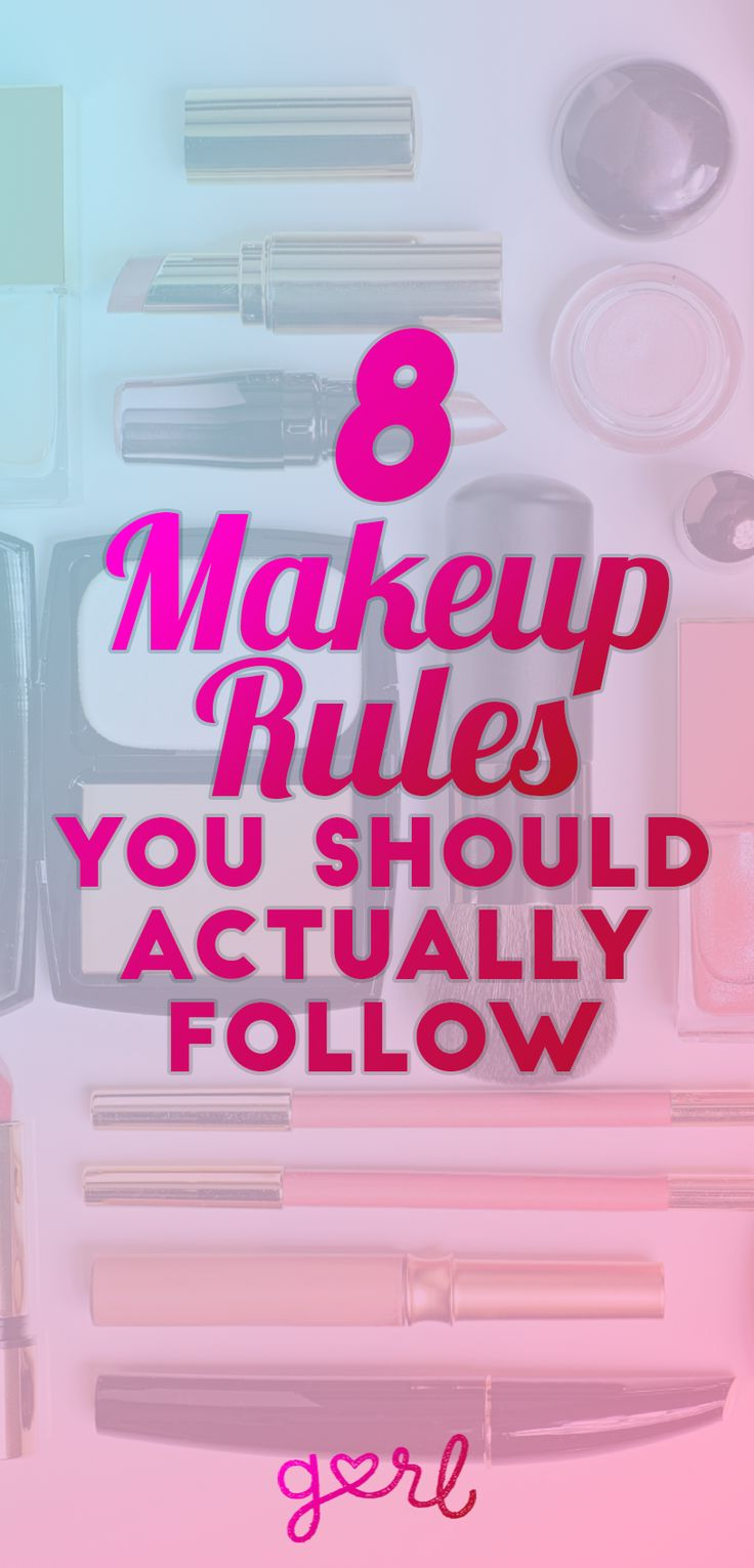 """Figuring out how to do your makeup sounds easy, but can be so difficult. Some girls are definitely better at it than others (I fall into the """"not good"""" camp). Makeup might come easily to those girls – so easily that they don't have to rely on a guidebook or online tutorials or even suggestions. For those of us who have a hard time figuring out what goes where and how to apply different products, there are some tried-and-true makeup rules that are actually helpful."""