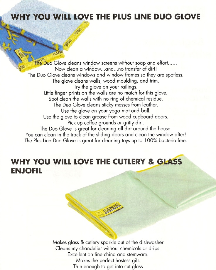 Why you will love the PlusLine and the Cutlery Glass fibres. Contact me landerson@enjo-canada.com www.enjo-canada.com