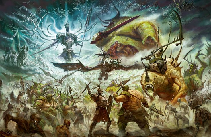 [Warhammer: Age of Sigmar] Collection d'images : Générique - Page 3 36ecf981ebaa41649326b0efb799d548