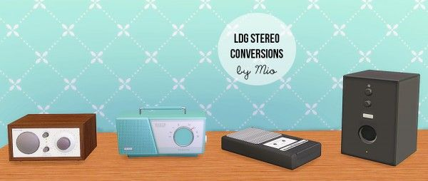 Mio-Sims: LDG Stereo conversions • Sims 4 Downloads