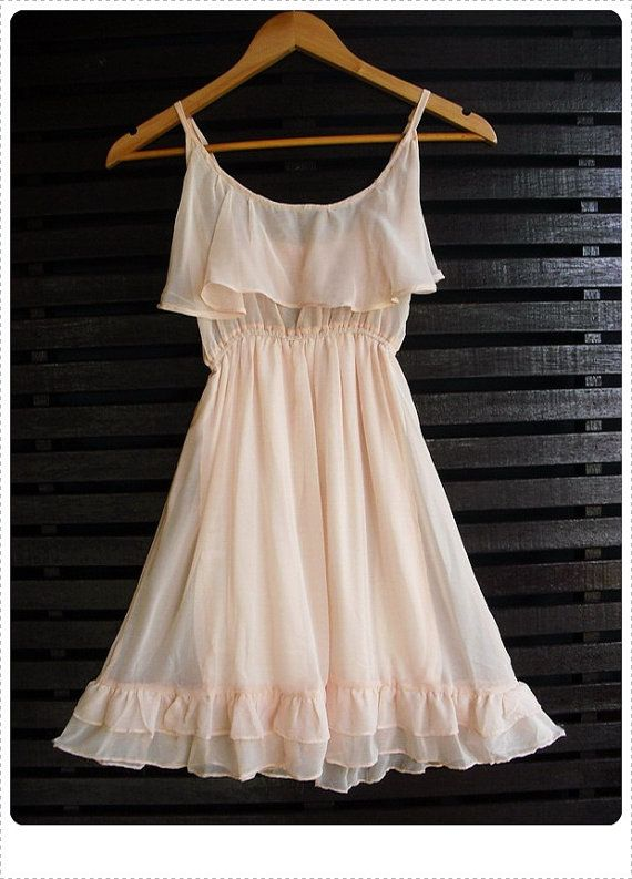 Wedding?  Not white though! !!      Sundresses, great way to embrace your inner girly girl--go for something flowy!