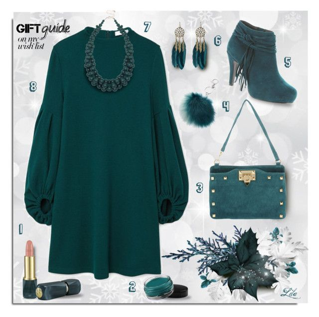 """""""#PolyPresents: Wish List"""" by breathing-style ❤ liked on Polyvore featuring MANGO, Carla G., Beacon, WithChic, Oribe, Inglot, M&Co and Mudd"""