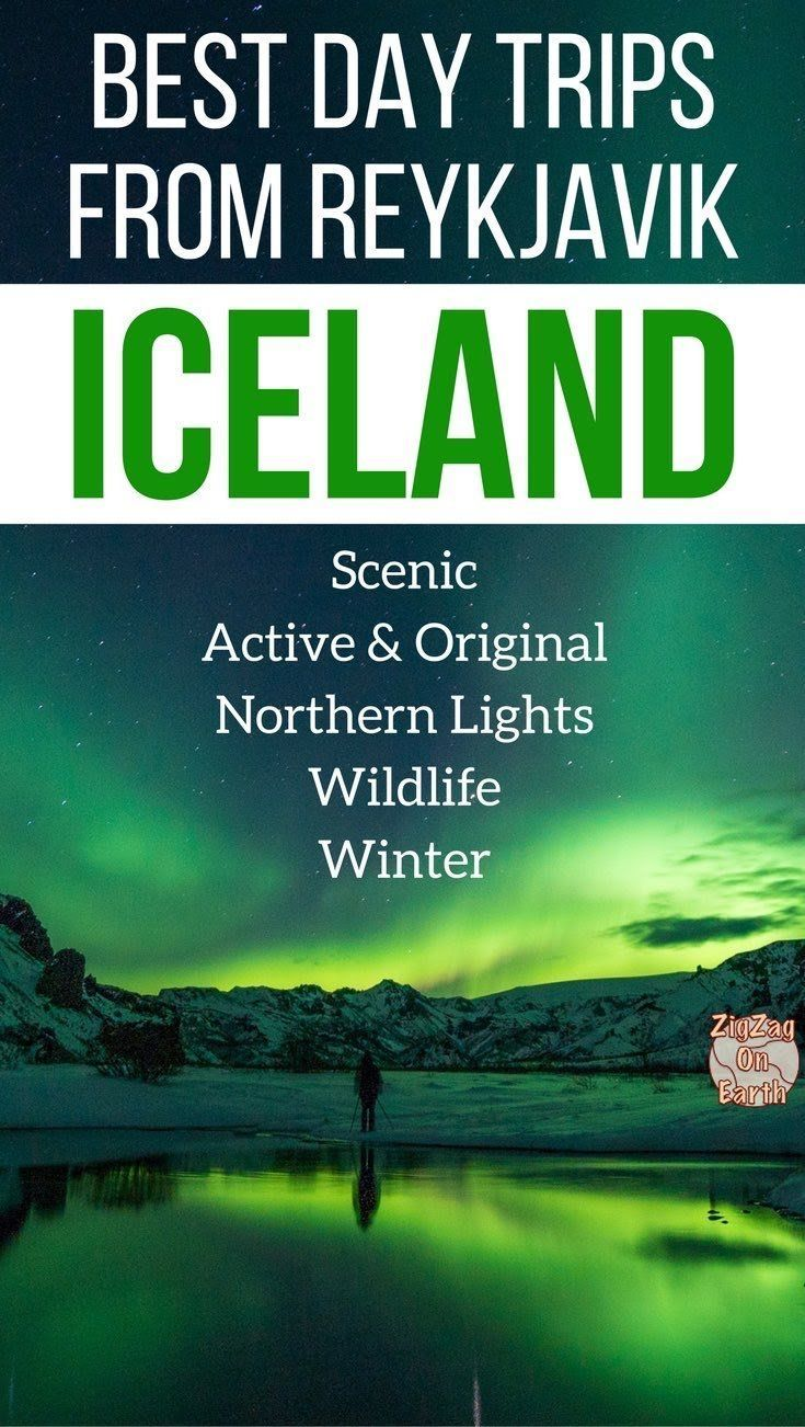 Pin Travel Iceland excursions - Iceland Day Tours - best day trips from Reykjavik