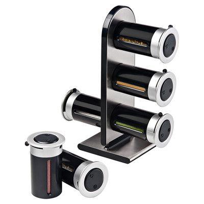 17 best ideas about magnetic spice jars on pinterest spice storage diy spice rack and kitchen. Black Bedroom Furniture Sets. Home Design Ideas
