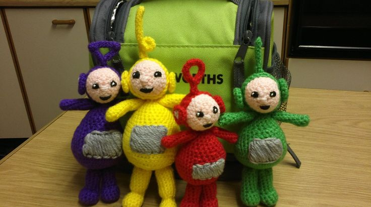 Teletubbies Knitting Pattern : Crochet teletubbies Crochet Pinterest See more ideas about Crochet