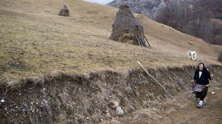 Drumul spre o casă de piatră