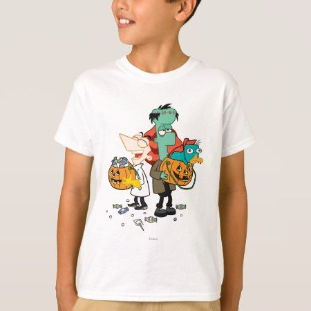 Phineas and Ferb Halloween T-Shirt - click to get yours right now!