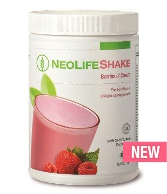 Berries n' Cream - A delicious and convenient shake to help satisfy hunger while giving you lasting energy. Based on the science of cellular nutrition & GR2 Control Technology for daily nutrition and weight management.