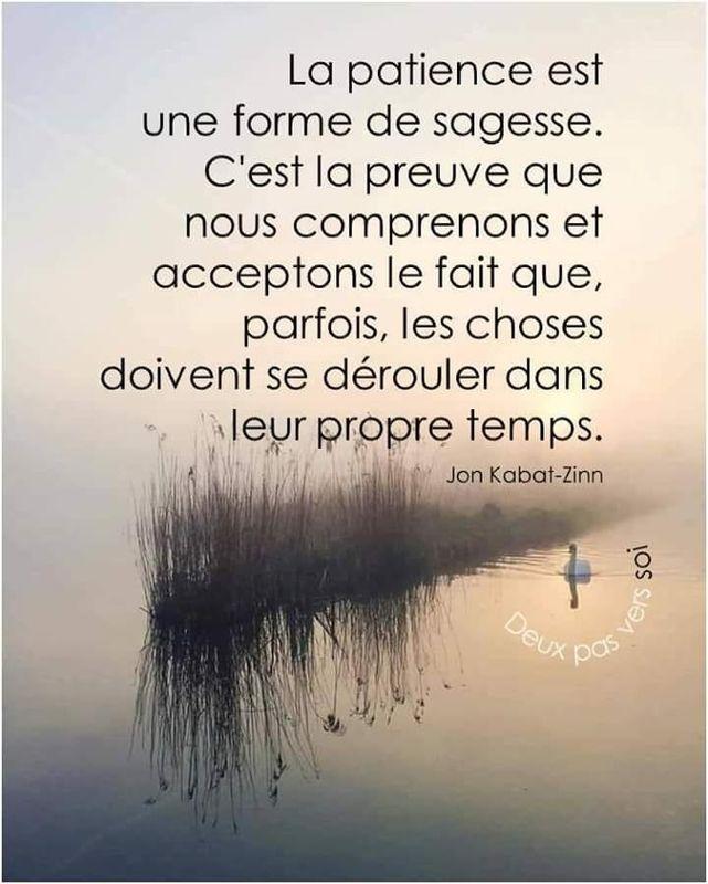La Patience Arc En Si Elles French Quotes Go For It