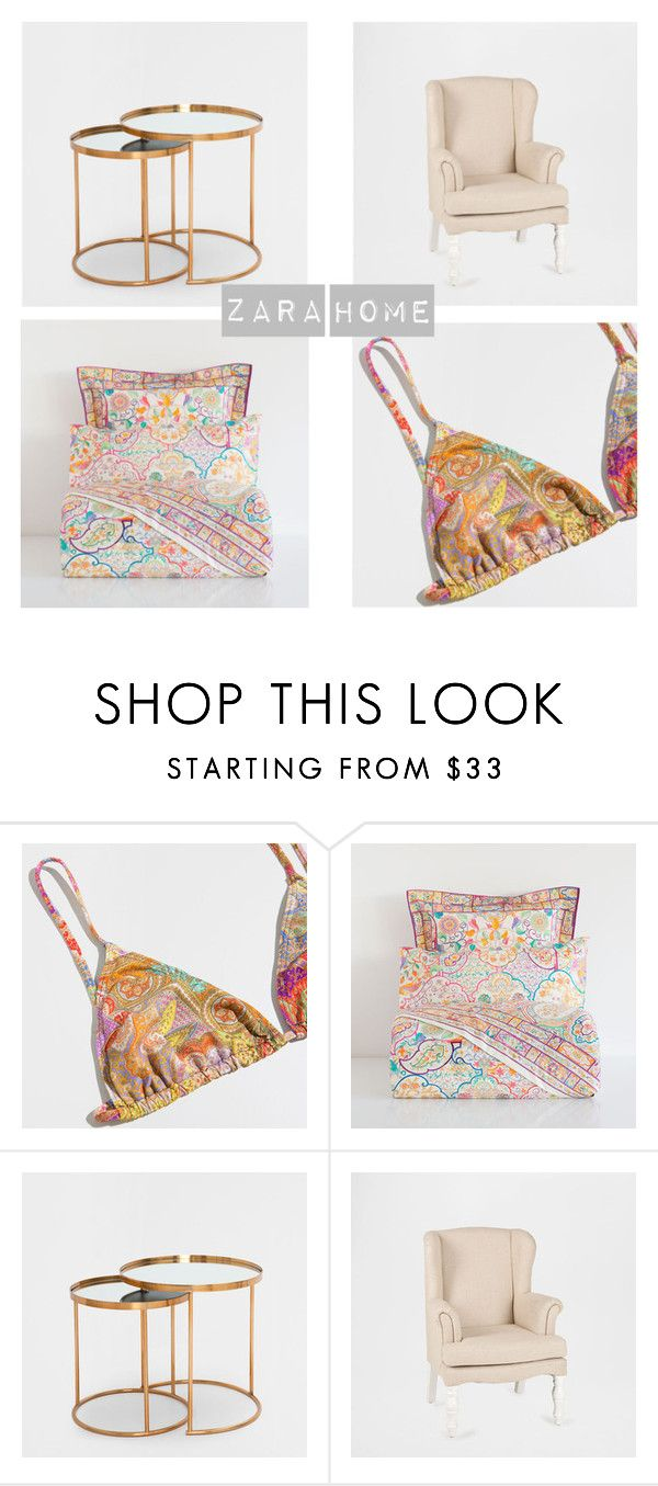 """""""Zara home"""" by majahellstrom on Polyvore featuring interior, interiors, interior design, home, home decor, interior decorating and Zara Home"""