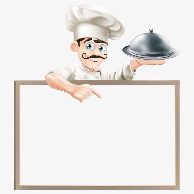 Cartoon Chef Png And Clipart Cartaz De Comida Projeto Do Menu Cartazes De Alimentos