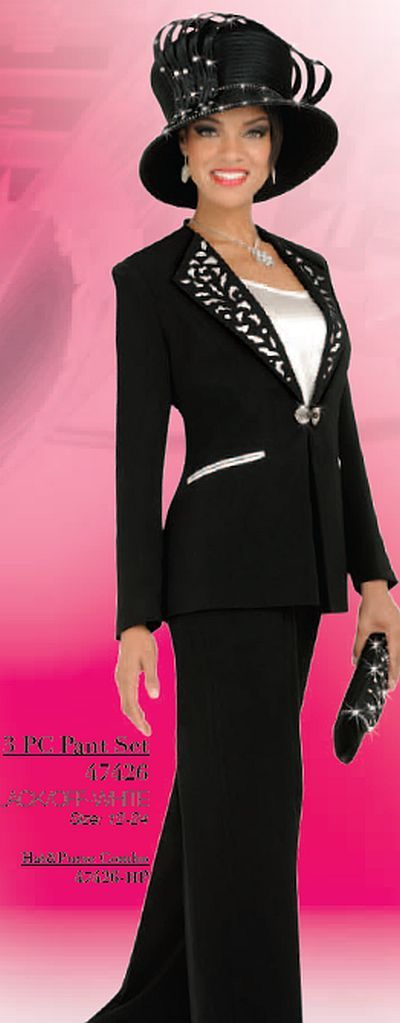 womens formal after five pant suits | Ben Marc 47426 Womens Dressy Pant Suit image