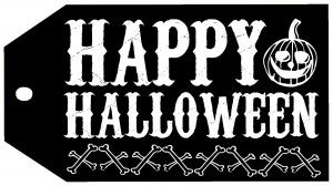 Free Happy Halloween Tags