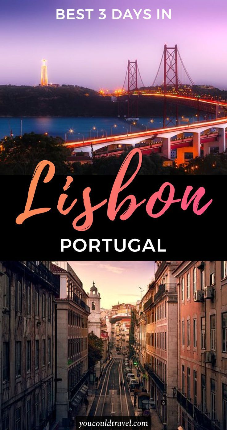 3 days in Lisbon (plus bonus guide to Sintra) - Wondering how to spend 3 days in Lisbon? Check out our complete city guide and enjoy a great Lisbon itinerary including where to stay, where to eat and what to see. #lisbon #guide
