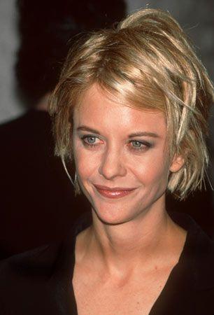 Keiner anderen Schauspielerin steht der verstrubbelte kinnlange Stufenschnitt so gut wie ihr: Meg Ryan 1997