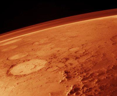 Der Mars hat eine zu dünne Atmosphäre - ihm fehlt heute der wärmende Treibhauseffekt
