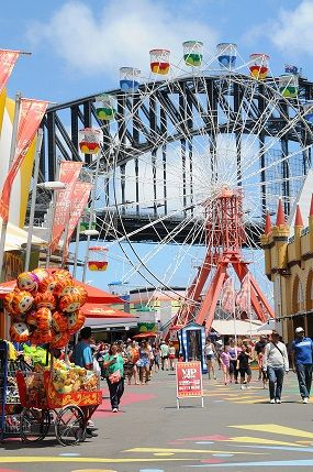 Win an unlimited rides double pass to Luna Park Sydney!