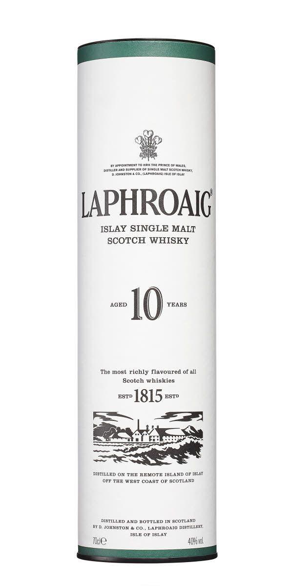 2/10 Laphroaig 10yo