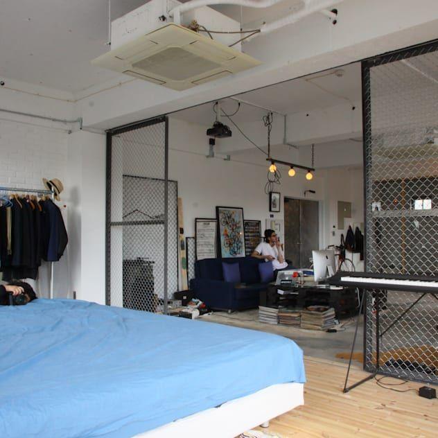 リノベーションで実現した自分だけのワンルーム Homify 2020 寝室 ベッドルーム 家 リフォーム