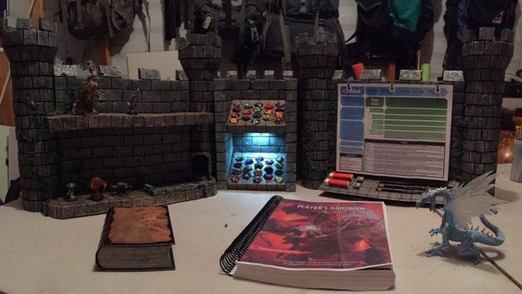 Learn How To Make The DM Screen Of The Gods