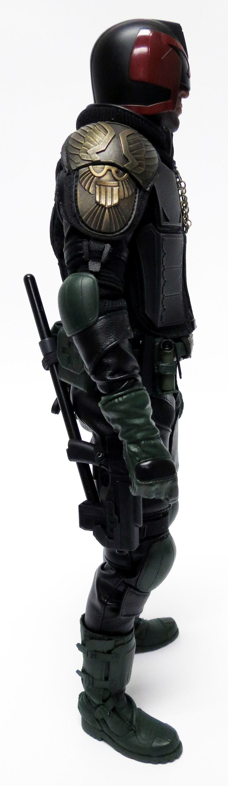 Custom Judge Dredd Art Figures 1/6 figure - custom and photo by Dye Customs