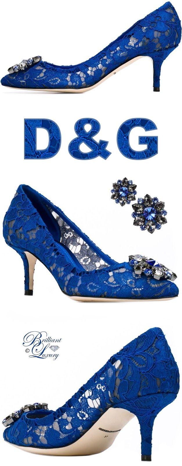 Brilliant Luxury by Emmy DE ♦ Dolce & Gabbana 'Bellucci' Pumps